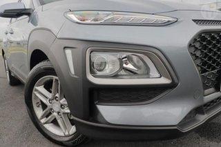 2018 Hyundai Kona OS Active (FWD) Lake Silver 6 Speed Automatic Wagon.