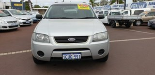2008 Ford Territory SY TS Silver 4 Speed Sports Automatic Wagon.