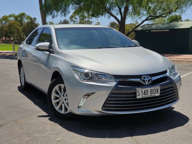 Used Toyota Camry ASV50R Altise, 2015 Toyota Camry ASV50R Altise Silver 6 Speed Sports Automatic Sedan