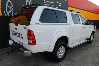 2008 Toyota Hilux KUN26R MY08 SR5 Super White 4 Speed Automatic Utility.