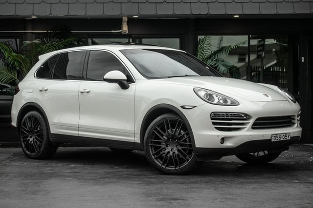 Used Porsche Cayenne 92A MY11 Diesel Tiptronic, 2010 Porsche Cayenne 92A MY11 Diesel Tiptronic White 8 Speed Sports Automatic Wagon