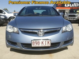2007 Honda Civic 8th Gen VTi Blue 5 Speed Automatic Sedan.