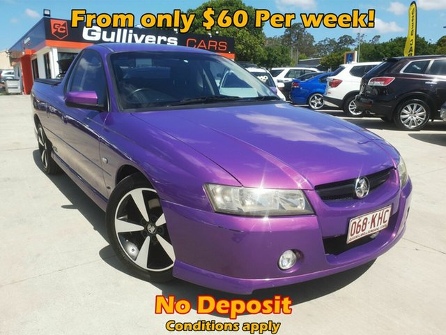 Used Holden Commodore VZ SV6, 2007 Holden Commodore VZ SV6 Purple Automatic Utility
