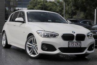 2016 BMW 1 Series F20 LCI 125i M Sport Alpine White 8 Speed Sports Automatic Hatchback.