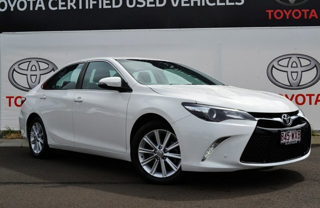 Used Toyota Camry ASV50R MY16 Atara S, 2016 Toyota Camry ASV50R MY16 Atara S Diamond White 6 Speed Automatic Sedan