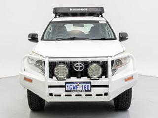 2014 Toyota Landcruiser Prado KDJ150R MY14 GX (4x4) White 5 Speed Sequential Auto Wagon.