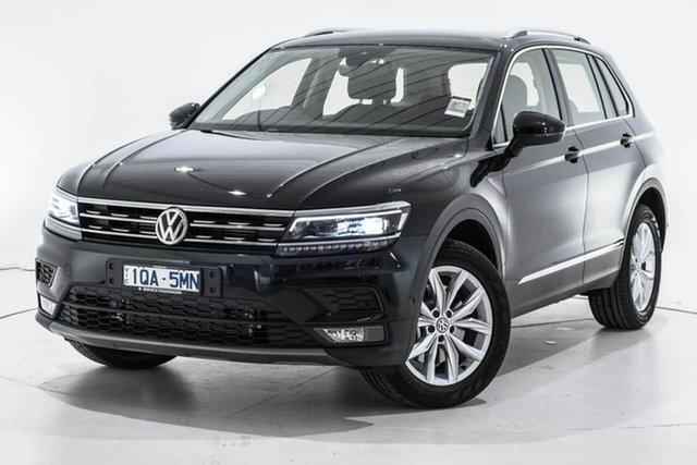 Demo Volkswagen Tiguan 5N MY20 132TSI DSG 4MOTION Comfortline, 2019 Volkswagen Tiguan 5N MY20 132TSI DSG 4MOTION Comfortline Black 7 Speed