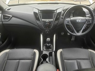 2013 Hyundai Veloster FS2 SR White 6 Speed Manual Coupe