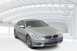 2016 BMW 428i F36 MY15 Gran Coupe Sport Line Silver 8 Speed Automatic Coupe.