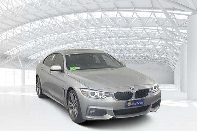Used BMW 428i F36 MY15 Gran Coupe Sport Line, 2016 BMW 428i F36 MY15 Gran Coupe Sport Line Silver 8 Speed Automatic Coupe