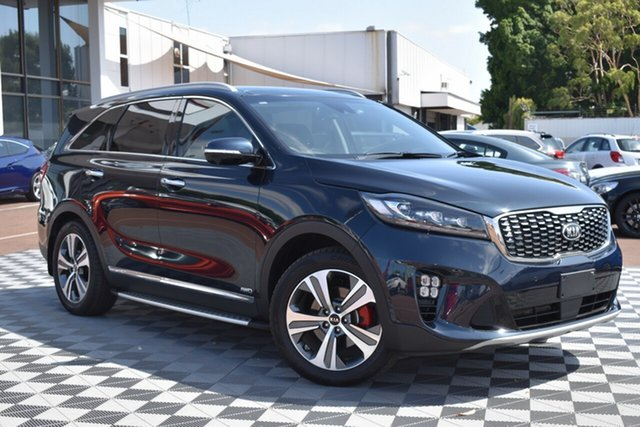 Used Kia Sorento UM MY18 GT-Line AWD, 2018 Kia Sorento UM MY18 GT-Line AWD Blue 8 Speed Sports Automatic Wagon