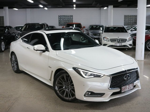 Used Infiniti Q60 V37 Red Sport, 2017 Infiniti Q60 V37 Red Sport White 7 Speed Sports Automatic Coupe