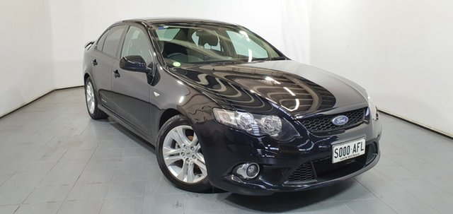 Used Ford Falcon FG XR6, 2009 Ford Falcon FG XR6 Black 6 Speed Manual Sedan