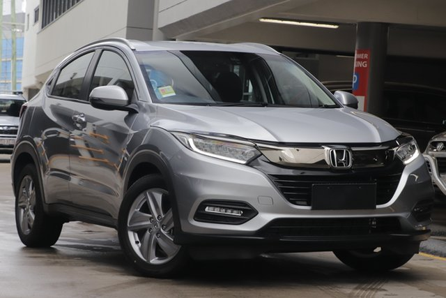 Demo Honda HR-V MY20 VTi-S, 2019 Honda HR-V MY20 VTi-S Lunar Silver 1 Speed Constant Variable Hatchback