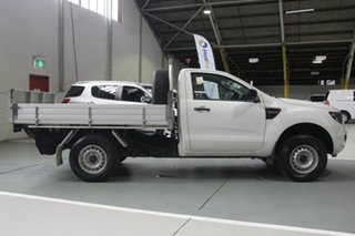 2014 Ford Ranger PX XL 4x2 Hi-Rider White 6 Speed Sports Automatic Cab Chassis