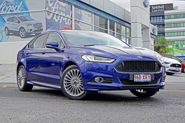 Used Ford Mondeo MD Titanium PwrShift, 2016 Ford Mondeo MD Titanium PwrShift Blue 6 Speed Sports Automatic Dual Clutch Hatchback