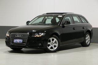 2009 Audi A4 B8 (8K) 2.0 TFSI Avant Black CVT Multitronic Wagon.