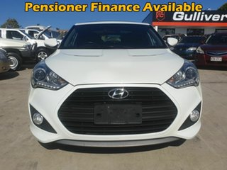 2013 Hyundai Veloster FS2 SR White 6 Speed Manual Coupe.