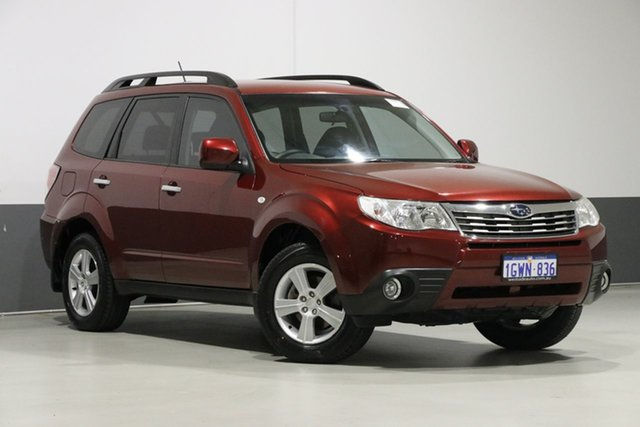 Used Subaru Forester MY09 XS, 2008 Subaru Forester MY09 XS Red 4 Speed Auto Elec Sportshift Wagon