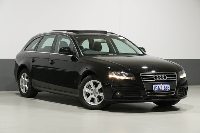 Used Audi A4 B8 (8K) 2.0 TFSI Avant, 2009 Audi A4 B8 (8K) 2.0 TFSI Avant Black CVT Multitronic Wagon