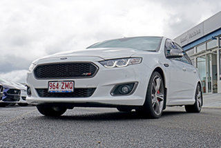2015 Ford Falcon FG X XR8 White 6 Speed Manual Sedan