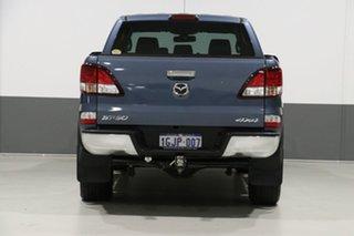 2017 Mazda BT-50 MY17 Update GT (4x4) Blue 6 Speed Manual Dual Cab Utility