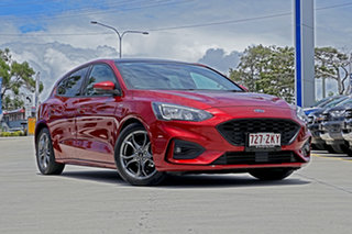 2018 Ford Focus SA 2019MY ST-Line Ruby Red 8 Speed Automatic Hatchback.