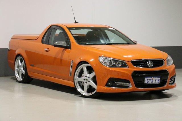 Used Holden Ute VF SS-V Redline, 2013 Holden Ute VF SS-V Redline Orange 6 Speed Manual Utility