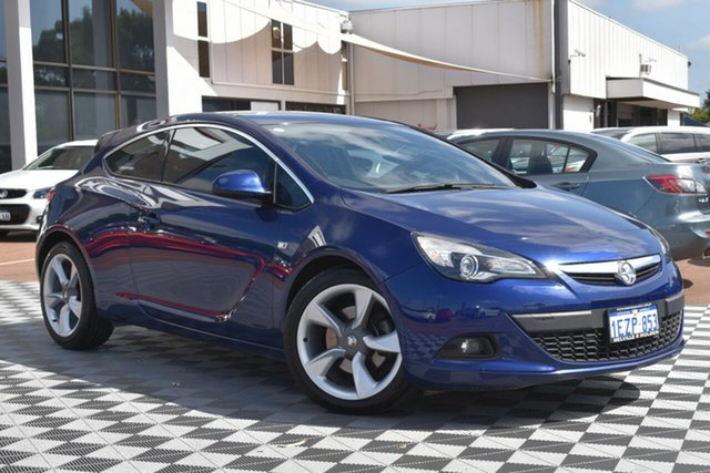 Used Holden Astra PJ MY15.5 GTC Sport, 2015 Holden Astra PJ MY15.5 GTC Sport Blue 6 Speed Automatic Hatchback