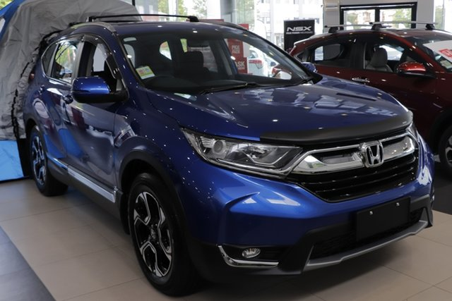 Demo Honda CR-V RW MY20 VTi-S FWD, 2019 Honda CR-V RW MY20 VTi-S FWD Blue 1 Speed Constant Variable Wagon