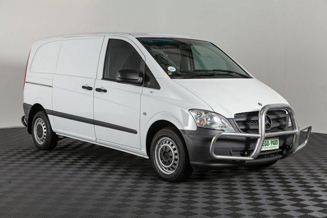 Used Mercedes-Benz Vito 639 MY13 116CDI SWB, 2013 Mercedes-Benz Vito 639 MY13 116CDI SWB White 5 speed Automatic Van