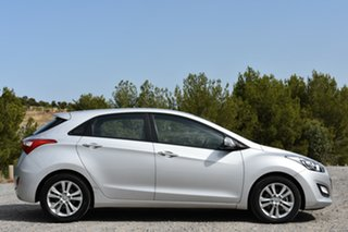2014 Hyundai i30 GD2 MY14 Trophy Silver 6 Speed Sports Automatic Hatchback.
