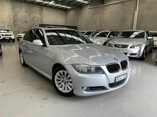 2008 BMW 3 Series E90 MY09 320i Steptronic Executive Silver 6 Speed Sports Automatic Sedan.