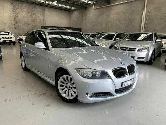 Used BMW 3 Series E90 MY09 320i Steptronic Executive, 2008 BMW 3 Series E90 MY09 320i Steptronic Executive Silver 6 Speed Sports Automatic Sedan