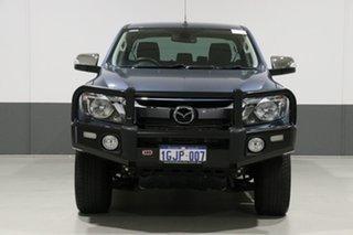 2017 Mazda BT-50 MY17 Update GT (4x4) Blue 6 Speed Manual Dual Cab Utility.