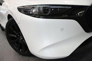 2019 Mazda 3 BP2HLA G25 SKYACTIV-Drive Astina Snowflake White 6 Speed Sports Automatic Hatchback.