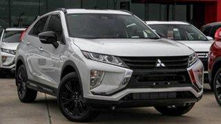 2019 Mitsubishi Eclipse Cross YA MY20 Black Edition 2WD Starlight 8 Speed Constant Variable Wagon.