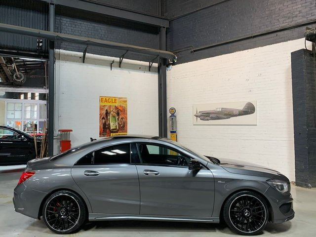 Used Mercedes-Benz CLA-Class C117 805+055MY CLA250 DCT 4MATIC Sport, 2015 Mercedes-Benz CLA-Class C117 805+055MY CLA250 DCT 4MATIC Sport Grey 7 Speed