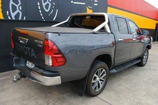 2017 Toyota Hilux GUN126R SR5 Double Cab Graphite Grey 6 Speed Sports Automatic Utility.