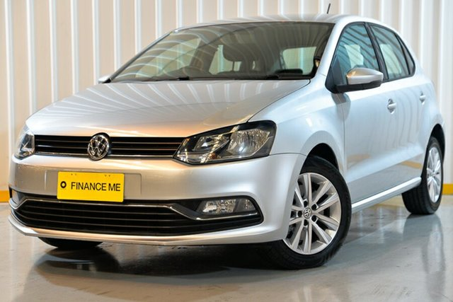 Used Volkswagen Polo 6R MY16 81TSI DSG Comfortline, 2016 Volkswagen Polo 6R MY16 81TSI DSG Comfortline Silver 7 Speed Sports Automatic Dual Clutch