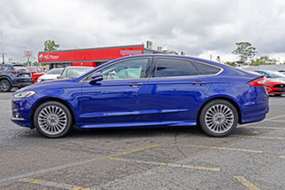 2016 Ford Mondeo MD Titanium PwrShift Blue 6 Speed Sports Automatic Dual Clutch Hatchback