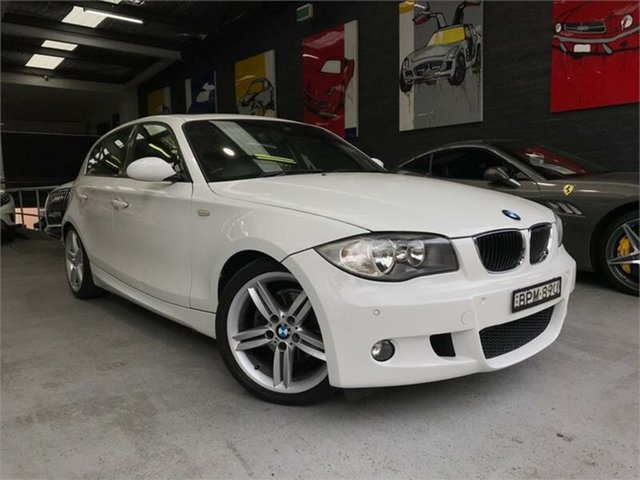 Used BMW 118i E87 118i, 2009 BMW 118i E87 118i White Automatic Hatchback