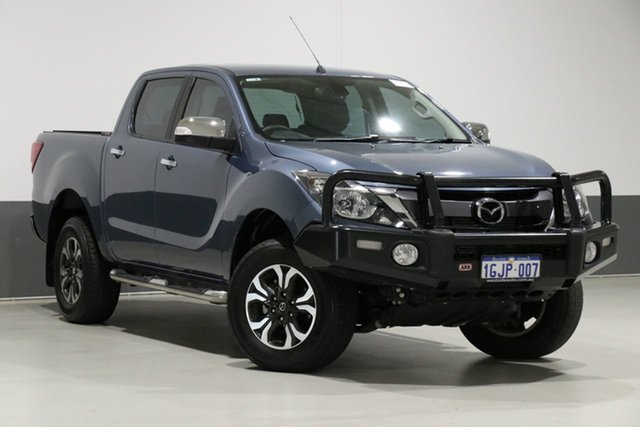 Used Mazda BT-50 MY17 Update GT (4x4), 2017 Mazda BT-50 MY17 Update GT (4x4) Blue 6 Speed Manual Dual Cab Utility