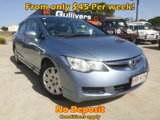 2007 Honda Civic 8th Gen VTi Blue 5 Speed Automatic Sedan