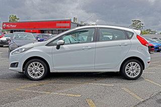 2015 Ford Fiesta WZ MY15 Trend PwrShift White 6 Speed Sports Automatic Dual Clutch Hatchback