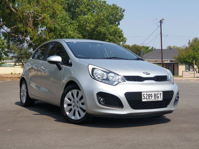 Used Kia Rio UB MY12 SI, 2012 Kia Rio UB MY12 SI Silver 6 Speed Sports Automatic Hatchback