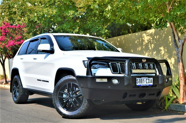 Used Jeep Grand Cherokee WK MY18 Laredo, 2017 Jeep Grand Cherokee WK MY18 Laredo White 8 Speed Sports Automatic Wagon