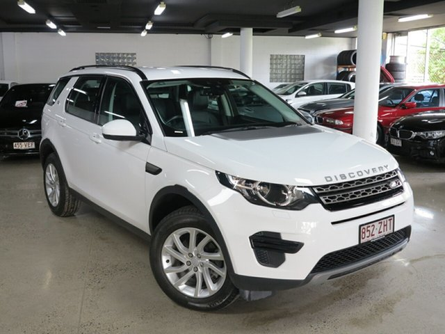 Used Land Rover Discovery Sport L550 17MY TD4 150 SE, 2016 Land Rover Discovery Sport L550 17MY TD4 150 SE White 9 Speed Sports Automatic Wagon