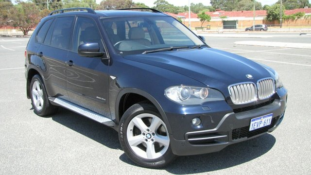 Used BMW X5 E70 MY10 xDrive35d Steptronic, 2010 BMW X5 E70 MY10 xDrive35d Steptronic Blue 6 Speed Sports Automatic Wagon