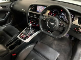 2014 Audi A5 8T MY15 Sportback S Tronic Quattro White 7 Speed Sports Automatic Dual Clutch Hatchback.